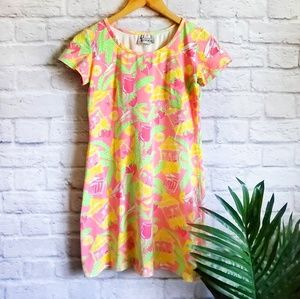 NWOT Lilly Pulitzer Cocktail Shirt Dress